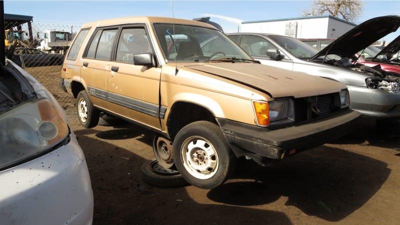 Junkyard Gem: 1986 Toyota Tercel SR5 4WD Wagon