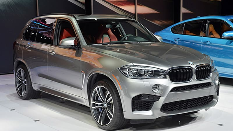 2017 Bmw X5 M Silver 200 Interior And Exterior Images