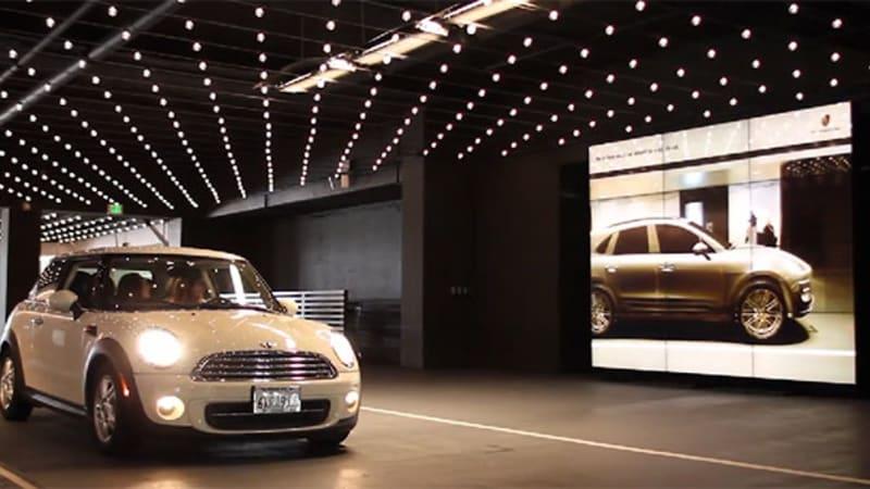 Porsche's high-tech 'mirror' turns every car into a Macan