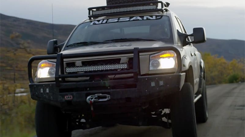 Nissan Titan Wounded Warrior project lands in time for Veteran's Day