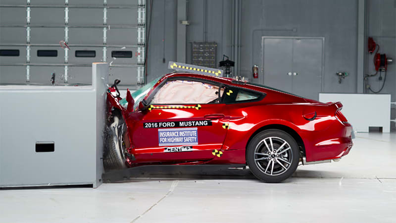 Iconic sports cars fail to meet top IIHS crash-test standards
