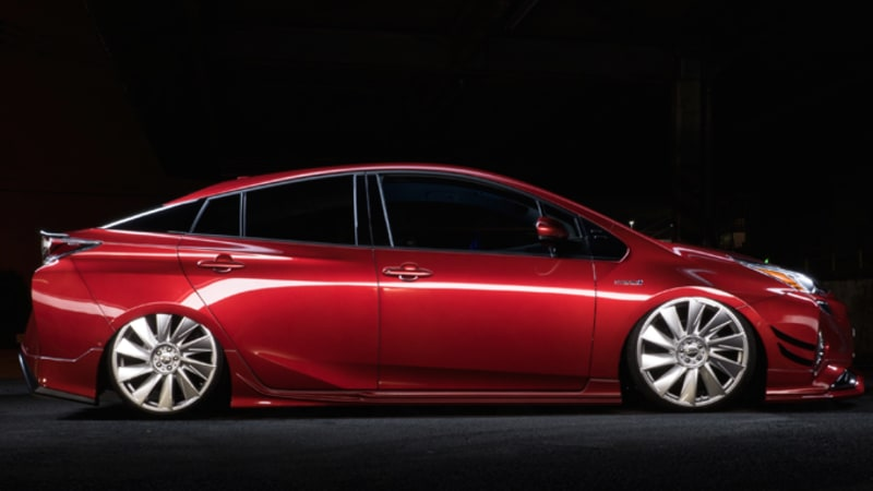 Wald International adds skirts, rims to new Toyota Prius