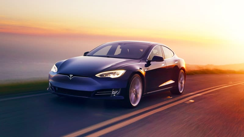 In the sales race, should Tesla Model S be counted as a full-size sedan?