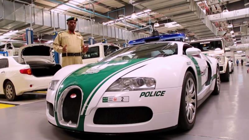Dubai Police Drive The World S Fastest Police Car Autoblog