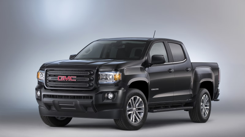 GMC introduces Canyon Nightfall Edition for the steathly and stylish - Autoblog