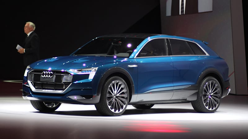 Audi Will Launch Electric Line With E Tron Suv Autoblog
