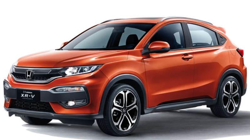 Honda reveals XR-V crossover in Chengdu