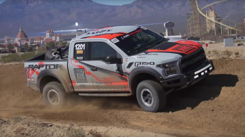 2017 Ford F-150 Raptor preps for Baja return