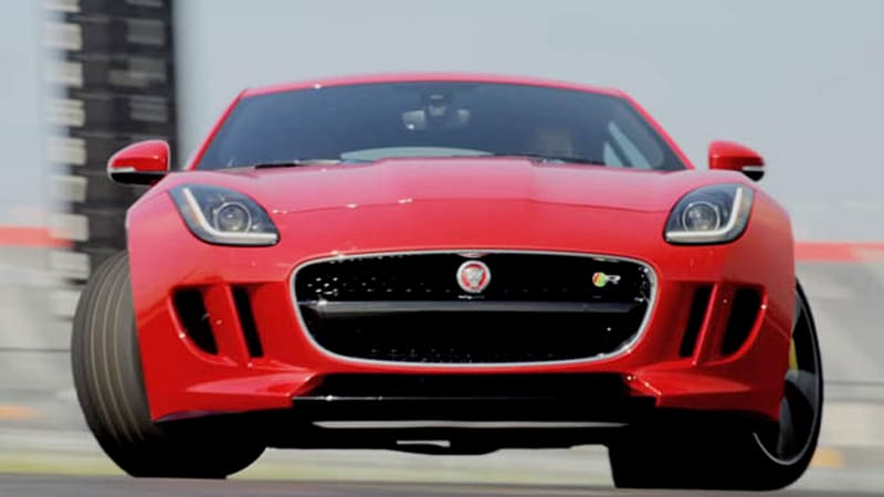 Jaguar Teaches Mena Suvari And Sebastian Stan How To Drive
