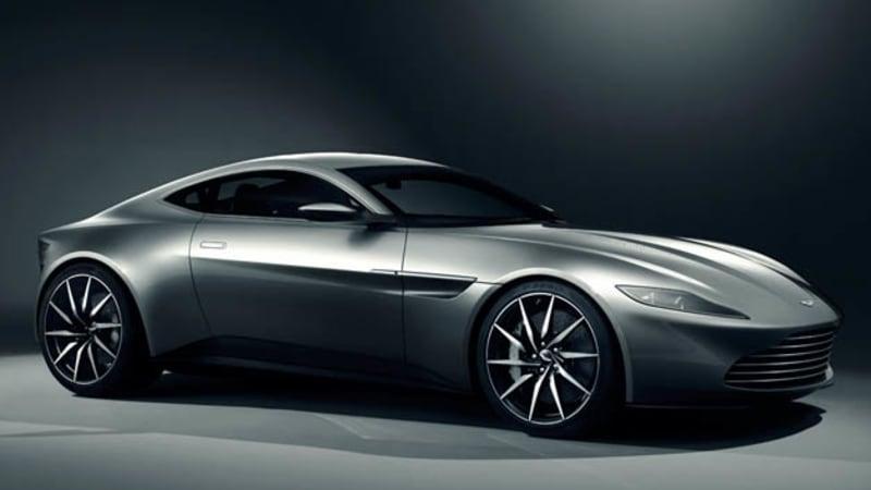 Aston Martin DB10 based on V8 Vantage