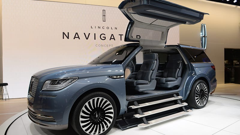 Ford 4x4 Vans For Sale Lincoln reignites the Navigator with bold concept - Autoblog