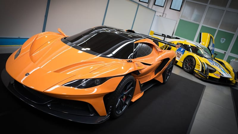 Apollo Arrow to source carbon-fiber chassis from Glickenhaus