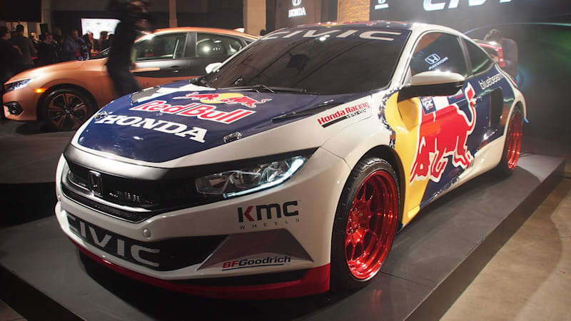 Honda Civic Coupe to join 2016 Red Bull Global Rallycross season