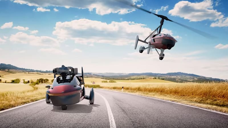 Dutch company offers slick convertible flying car for sale
