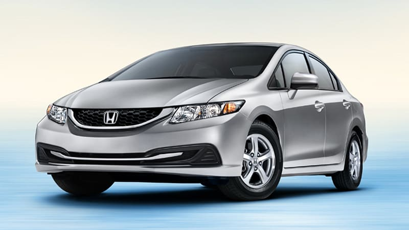 New Honda Civic Natural Gas goes on sale end of November