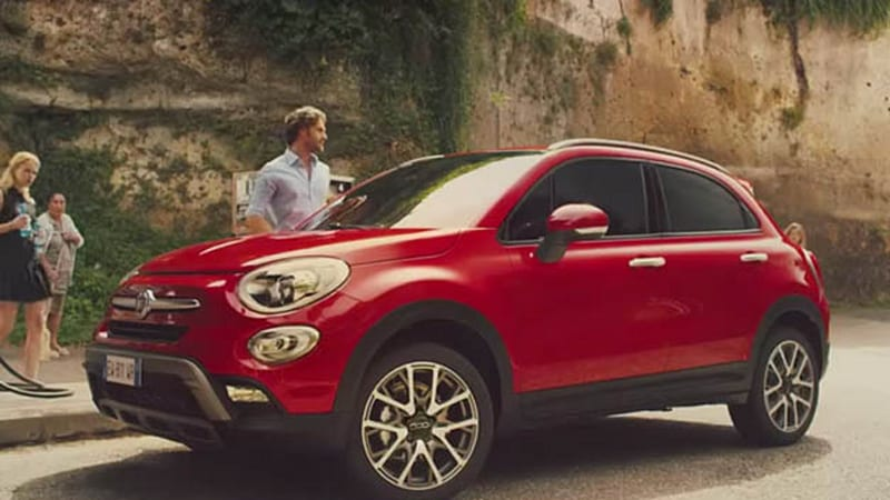Fiat 500X takes the blue pill
