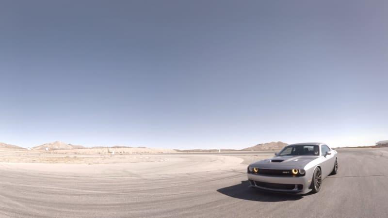Dodge Challenger Hellcat at Willow Springs International Raceway | AutoblogVR