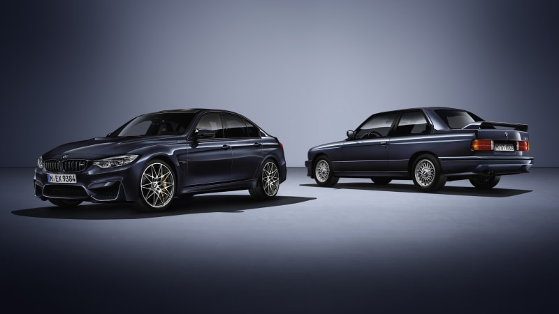 Guess what BMW's '30 Years M3' special edition celebrates