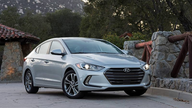 The 2017 Hyundai Elantra is frisky