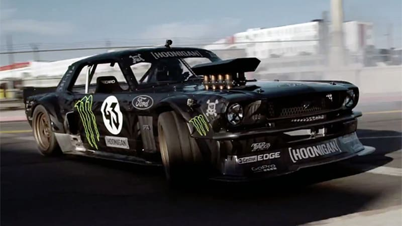 Video  Ken Block returns to terrorize LA in Gymkhana 7