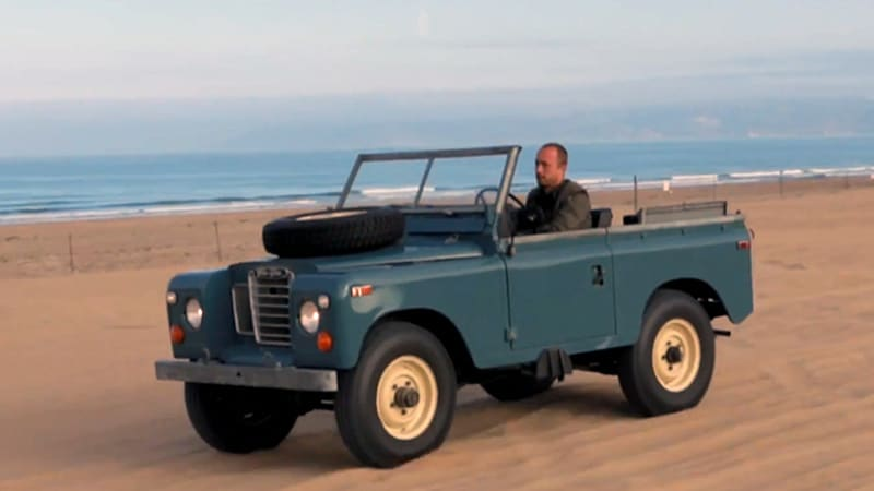 series iii land rover gets adventurous with petrolicious. Black Bedroom Furniture Sets. Home Design Ideas