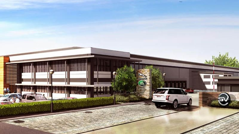 Jaguar Land Rover Building New Special Vehicle Operations