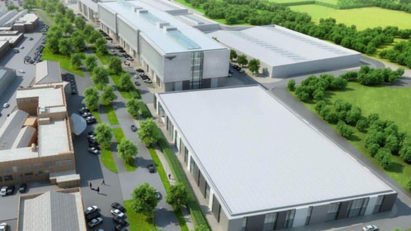 Bentley opening new R&D center in Crewe