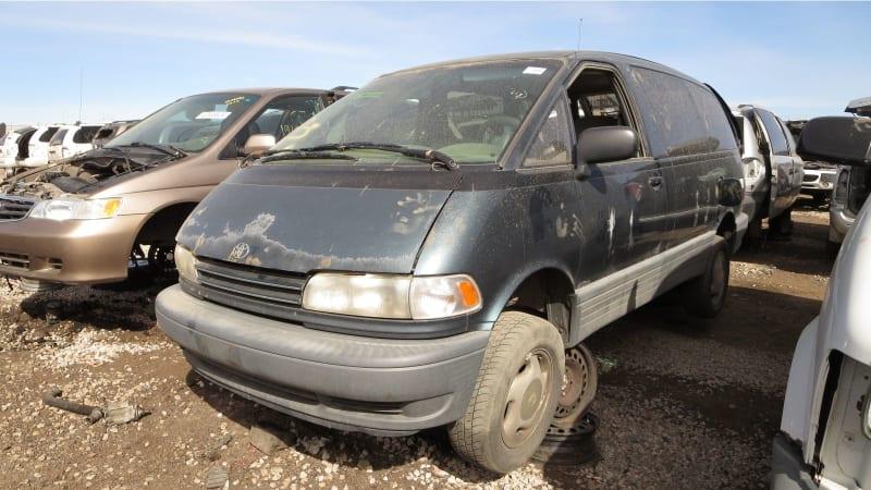 Junkyard Gem: 1996 Toyota Previa All-Trac