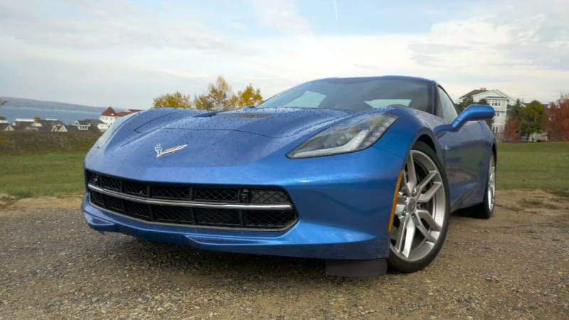 2016 Chevrolet Corvette Stingray Beauty-Roll