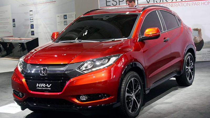 Honda HR-V Prototype looks awfully familiar