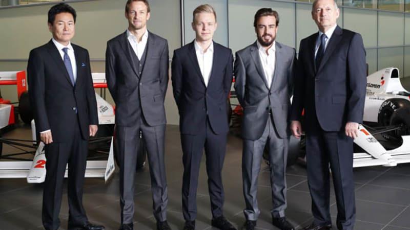 McLaren confirms Alonso, keeps Button