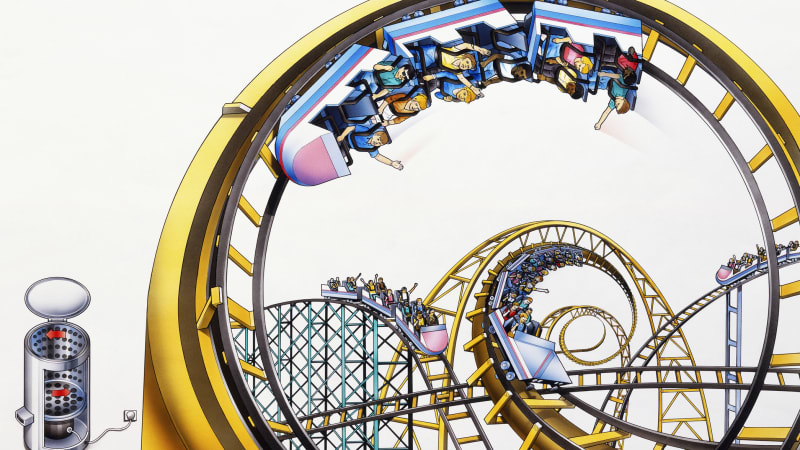Researchers find roller coasters are great for knocking loose kidney stones