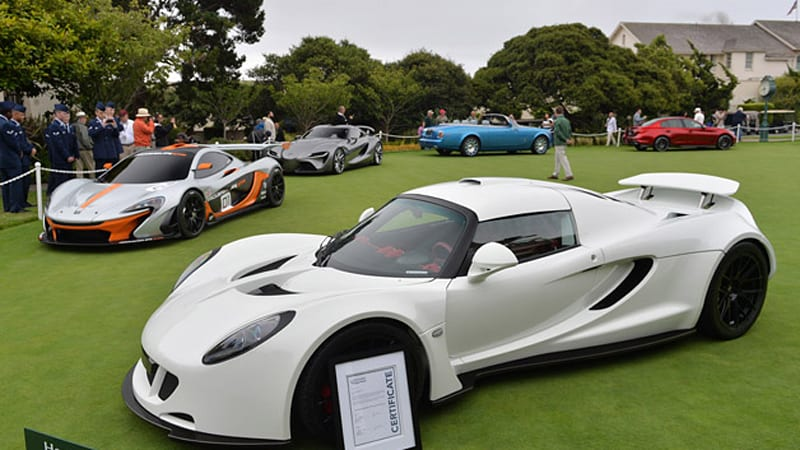 Pebble Beach Concept Car Lawn adds class to the grass