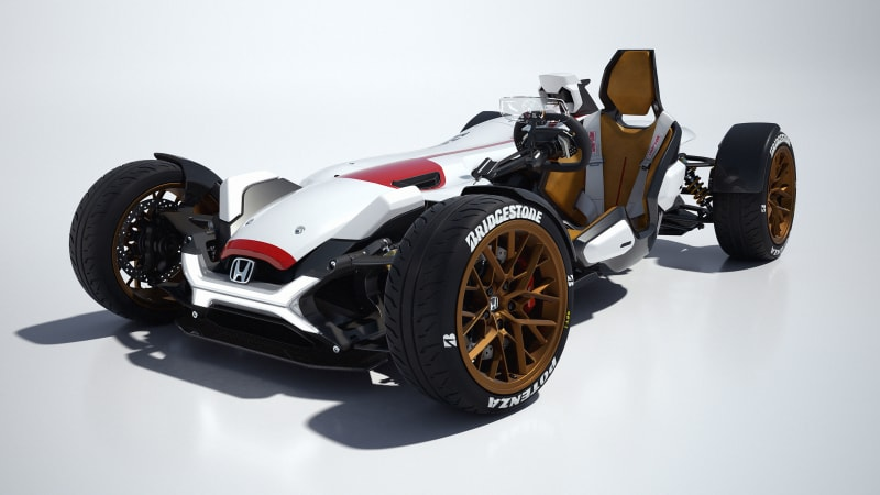 Honda Project 2&4 concept has 212 hp, 893 lbs, and our hearts