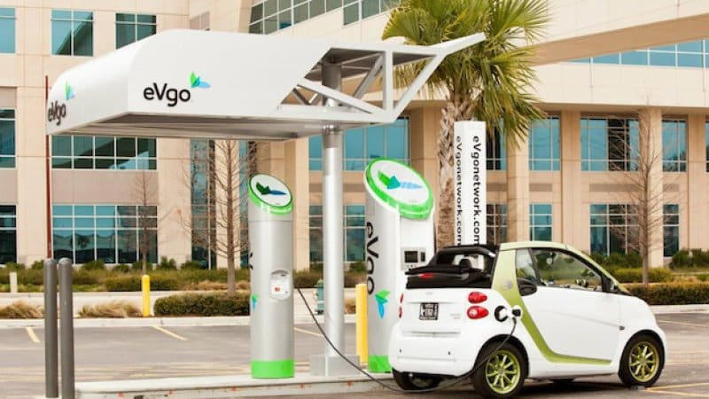 NRG sells EVgo network of fast-chargers to investment firm