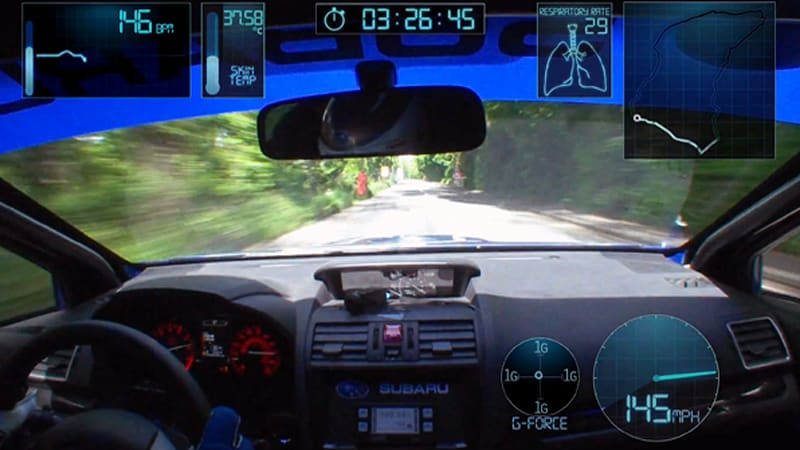 Watch Higgins' mind-blowing Subaru WRX STI Isle of Man record lap in first-person