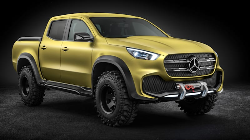 The Mercedes-Benz X-Class Concept is a stylish Euro pickup for everyone else