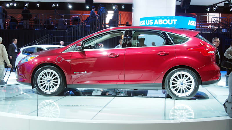 ford focus electric boosts range by 51 albeit quietly. Black Bedroom Furniture Sets. Home Design Ideas