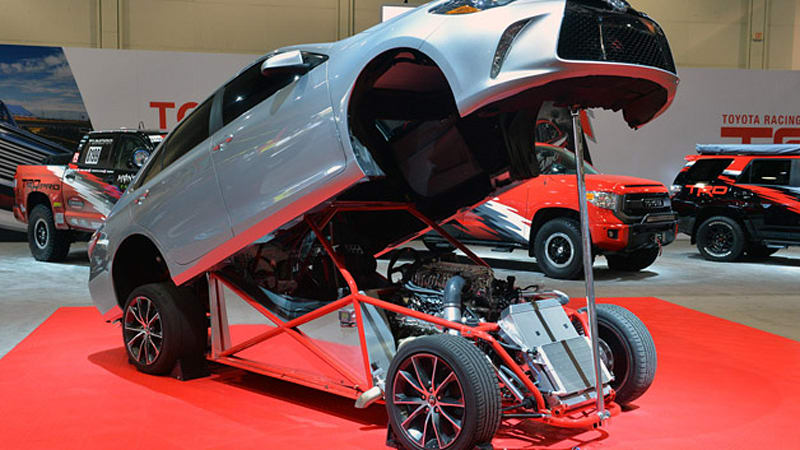Toyota Camry Dragster Takes The Phrase Sleeper To Its