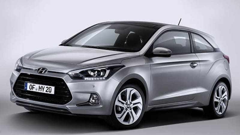 Hyundai spices up Euro lineup with i20 Coupe, i30 Turbo, revised i40