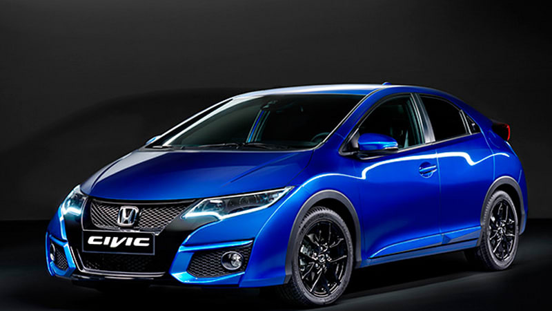 Honda shows facelifted Euro Civic hatch with new Sport variant
