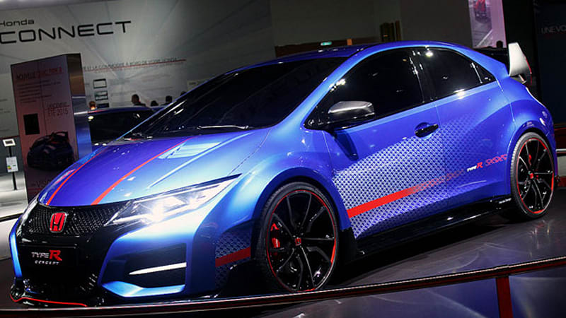 Honda Civic Type R Concept is the shape of hot things to come