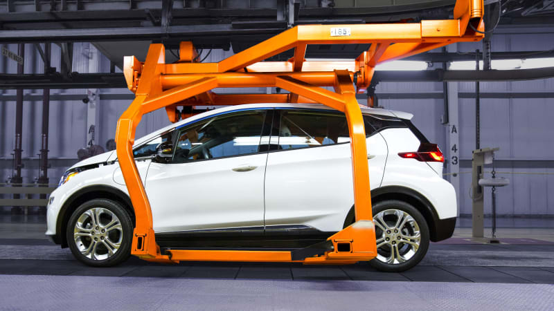 Recharge Wrap-up: Chevy Bolt plant's onsite green energy, Tesla pickup concept