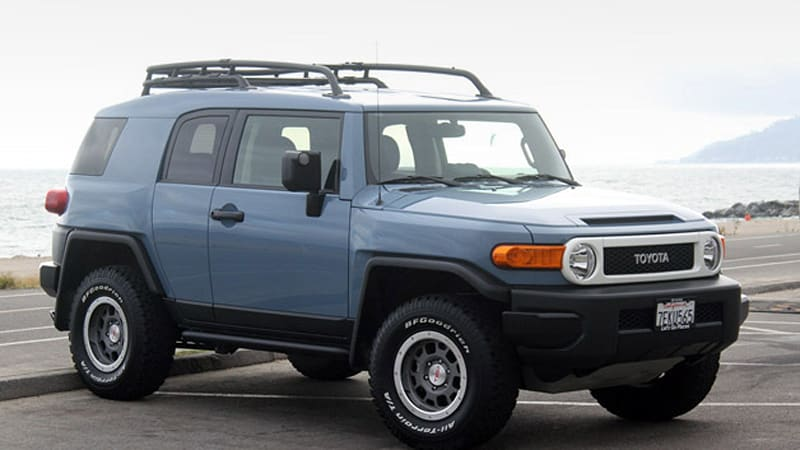 2014 Toyota Fj Cruiser Ultimate Edition Autoblog