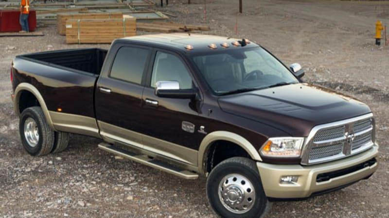 Chrysler recalling 382k Ram HD diesel pickups, 184k SUVs