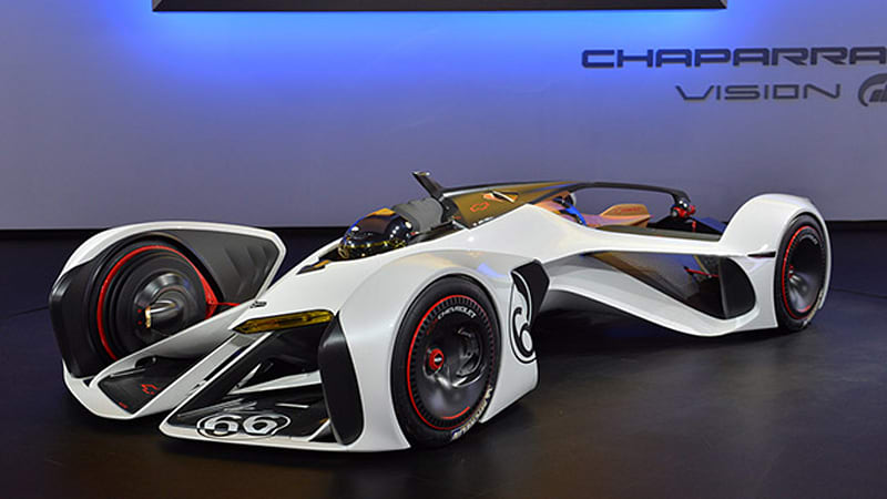 Chevrolet Chaparral 2X Vision Gran Turismo could only work in a video game [w/video]