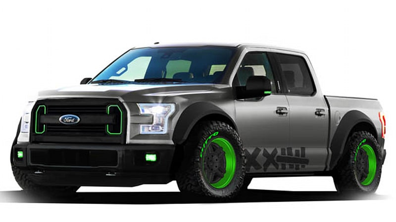 Ford readying 2015 F-150 drift truck for SEMA - Autoblog