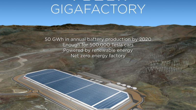 Tesla Preps For Gigafactory Grand Opening In Nevada