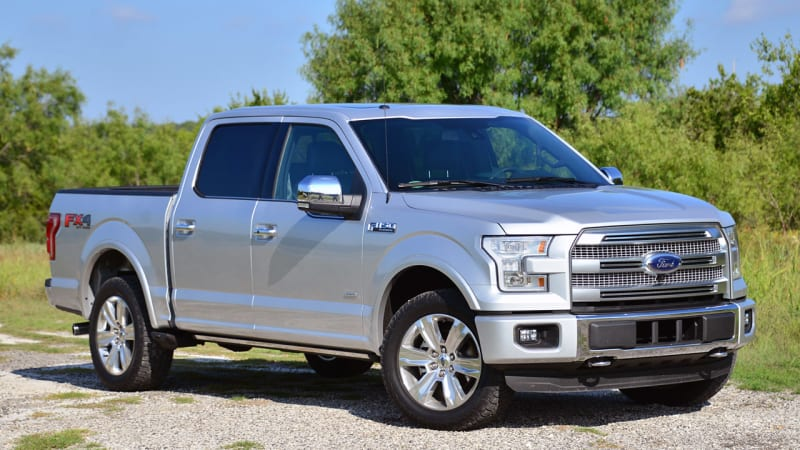 IIHS crash tests second F-150 bodystyle