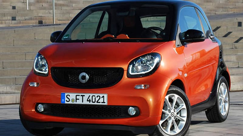 2016 Smart Fortwo to breed more potent Brabus version - Autoblog
